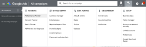 keyword research on Google in 2020 for free - Keyword planner