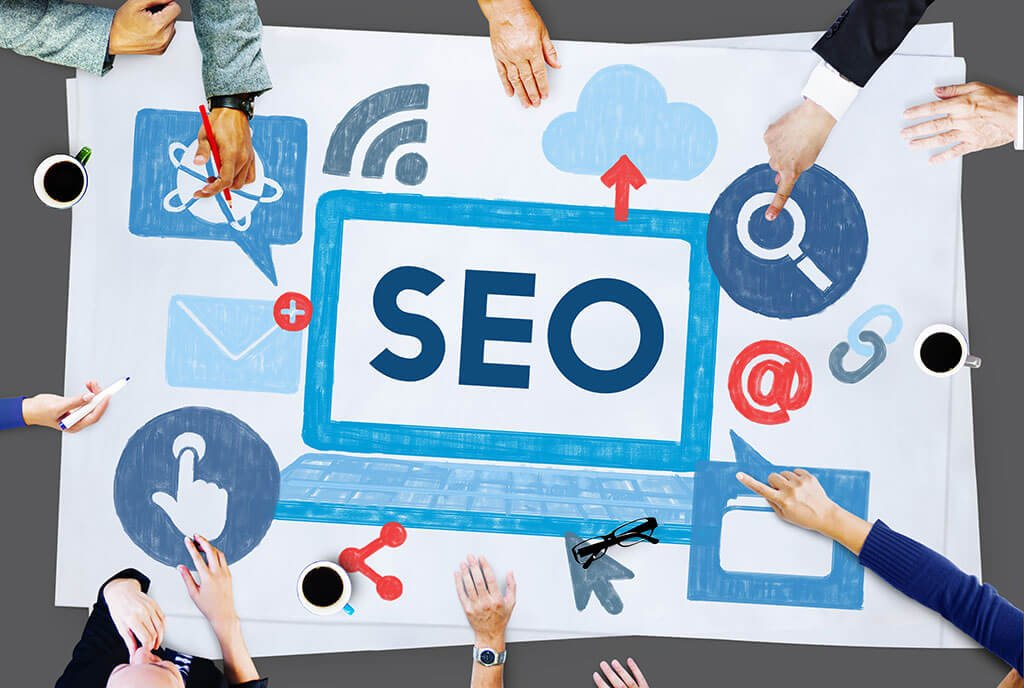 What's the first step in the search engine optimisation process for your website?