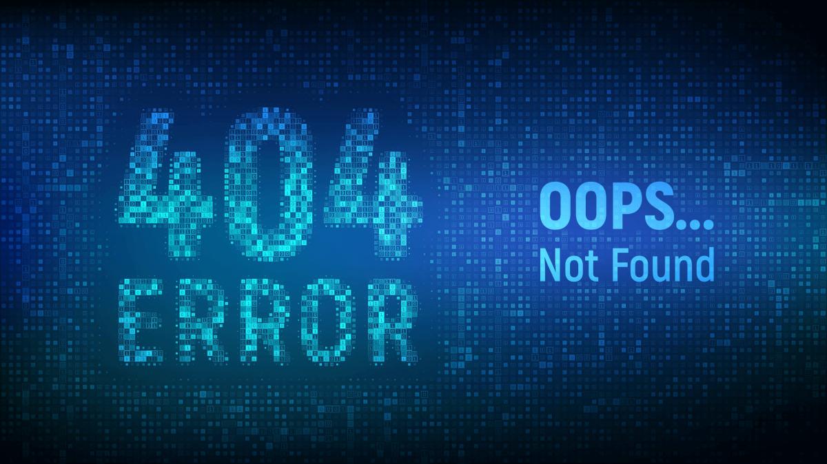 map 404 urls